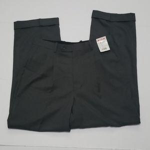 Paolo Giardini Gray Pleated Pants 34W×40L